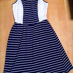 Cross back summer dress